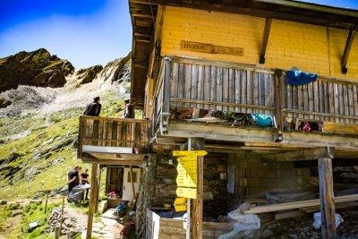 Eisseehütte am Venediger Höhenweg