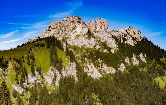 Kampenwand in den bayerischen Voralpen