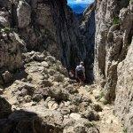 Abstieg vom Kampenwandgipfel
