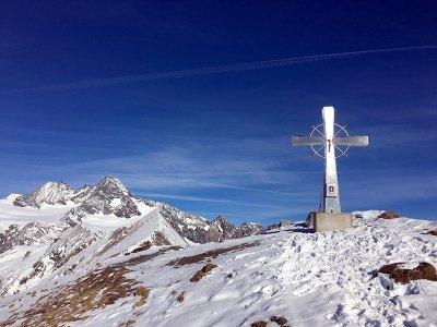 Gipfelkreuzt auf dem Figerhorn