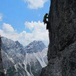 Alpinklettern am Elfer
